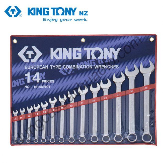 bộ cờ lê vòng miệng 10-32mm Kingtony