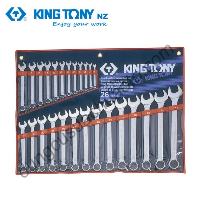 bộ cờ lê vòng miệng 6-32mm Kingtony