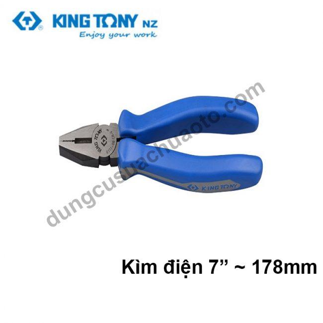 kìm điện 7 inch kingtony