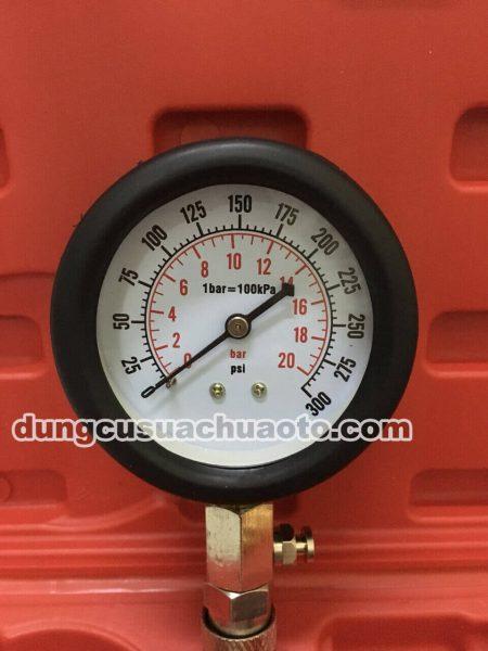đo áp hơi động cơ xăng