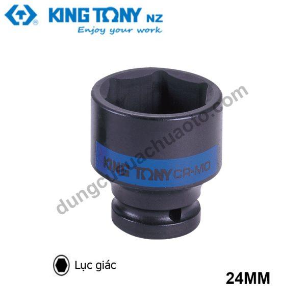 """khẩu tuýp lục giác 1"""" kingtony đen 24mm"""
