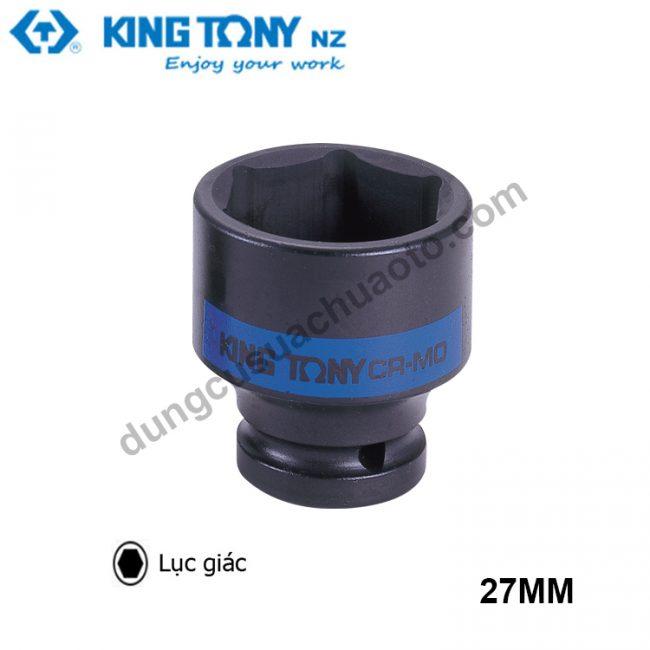 """khẩu tuýp lục giác 1"""" kingtony đen 27mm"""