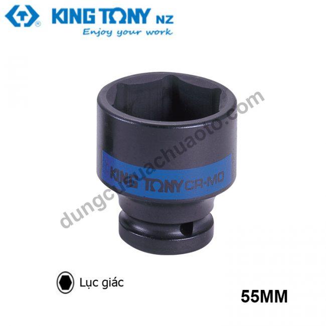 """khẩu tuýp lục giác 1"""" kingtony đen 55mm"""