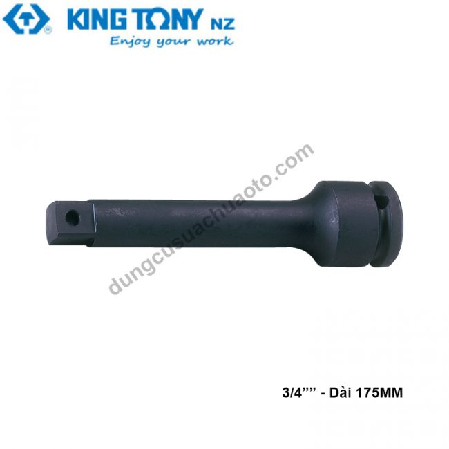 """khúc nối 3/4"""" kingtony dài 175mm ,đen"""