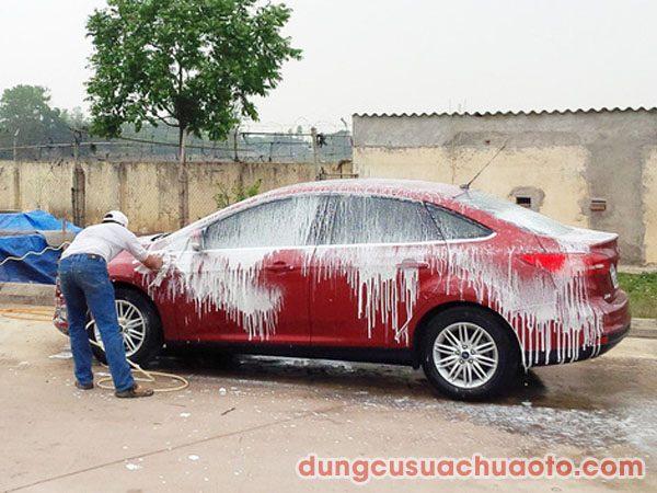 rửa xe không chạm