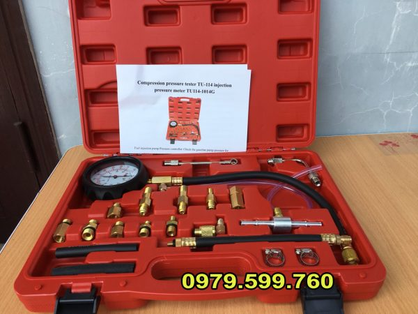 bộ đo áp suất bơm xăng